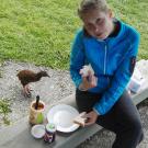 Drugie śniadanie w doborowym towarzystwie :)
